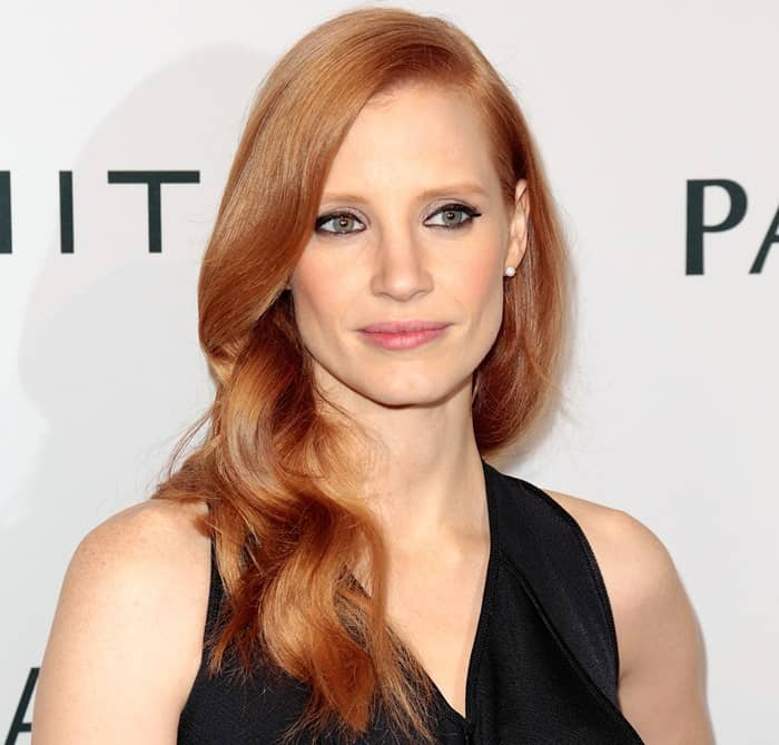 Jessica Chastain at The Hollywood Reporter Nominees' Night 2013 celebrating the 85th Annual Academy Award Nominees held at Spago in Beverly Hills on February 4, 2013