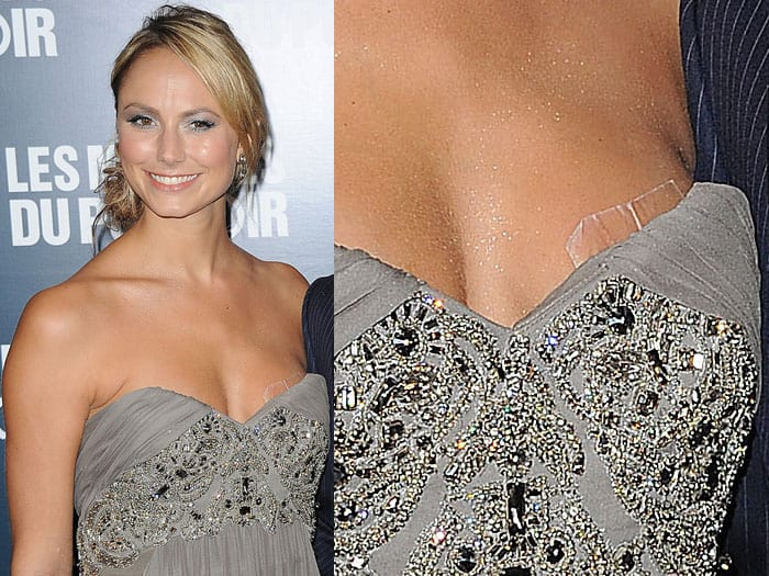 Stacy Keibler boob tape