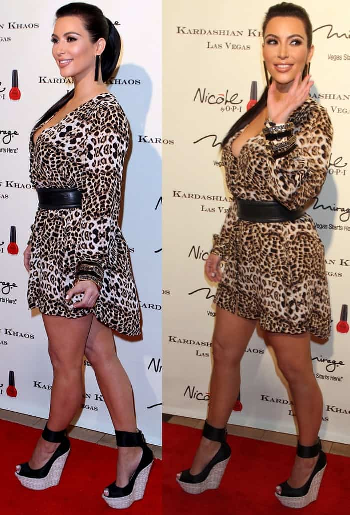 Who Looks Best and Worst in Leopard Print: Caitlyn