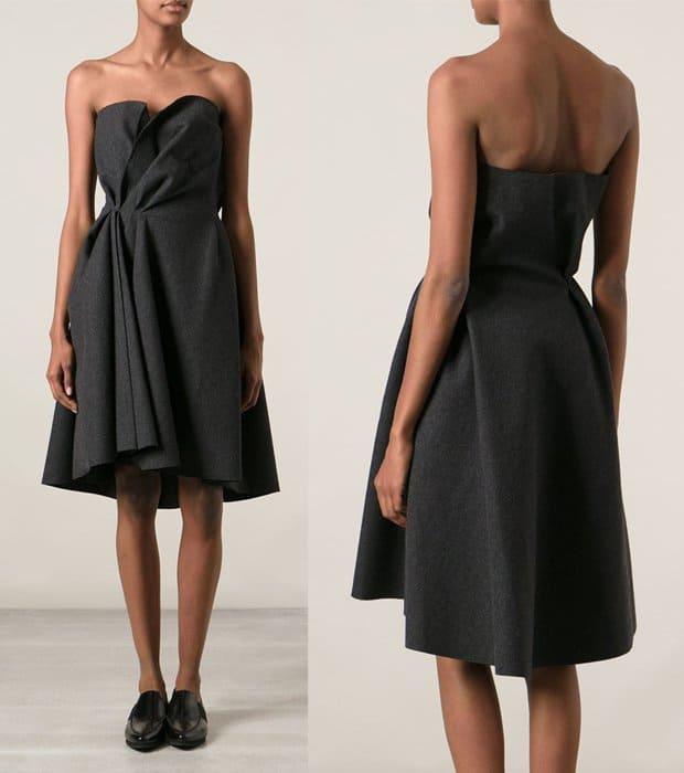 Lanvin Strapless Dress