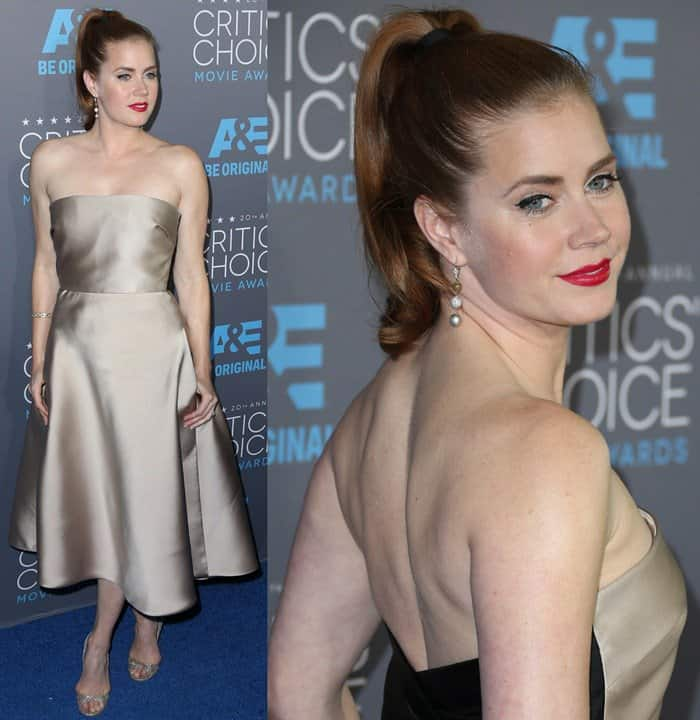 Amy Adams at the 2015 Critics' Choice Movie Awards