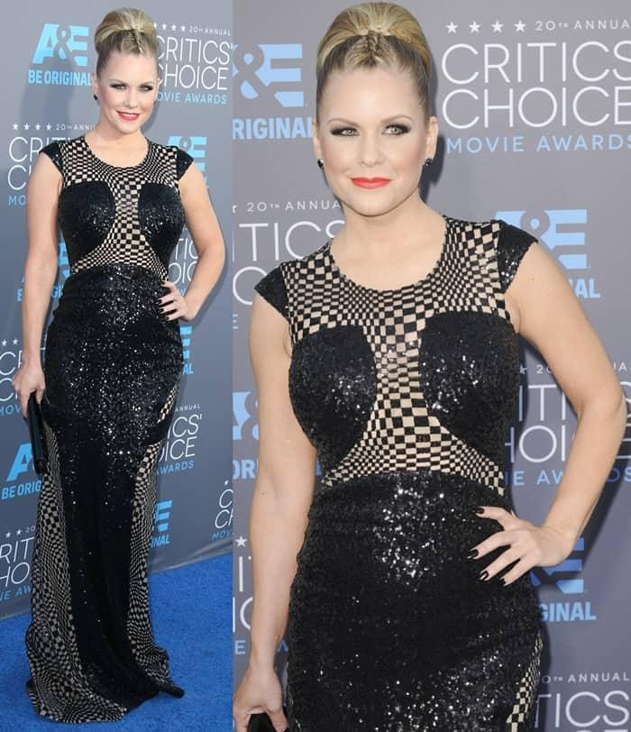Carrie Keagan at the 2015 Critics' Choice Movie Awards