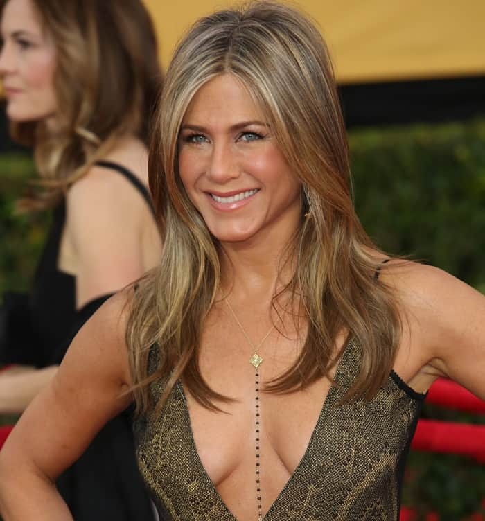 Jennifer Aniston has been rumored to drink a bit too much wine at times