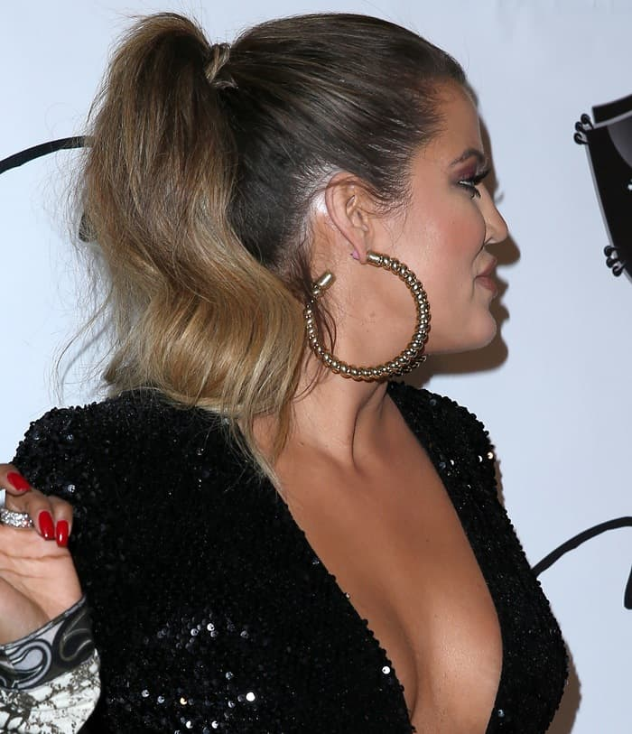 Khloe Kardashian Hosts at 1 Oak Nightclub