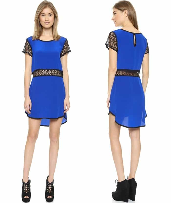 LIV Shift Dress with Lace3