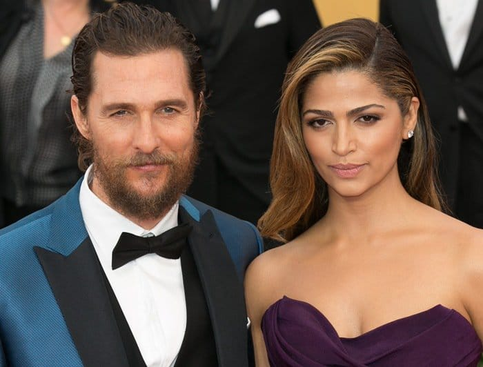 Matthew McConaughey and wife Camila Alves have been married since 2012