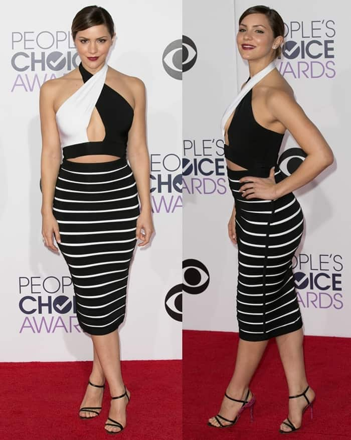 Katharine McPhee at the 41st Annual People's Choice Awards