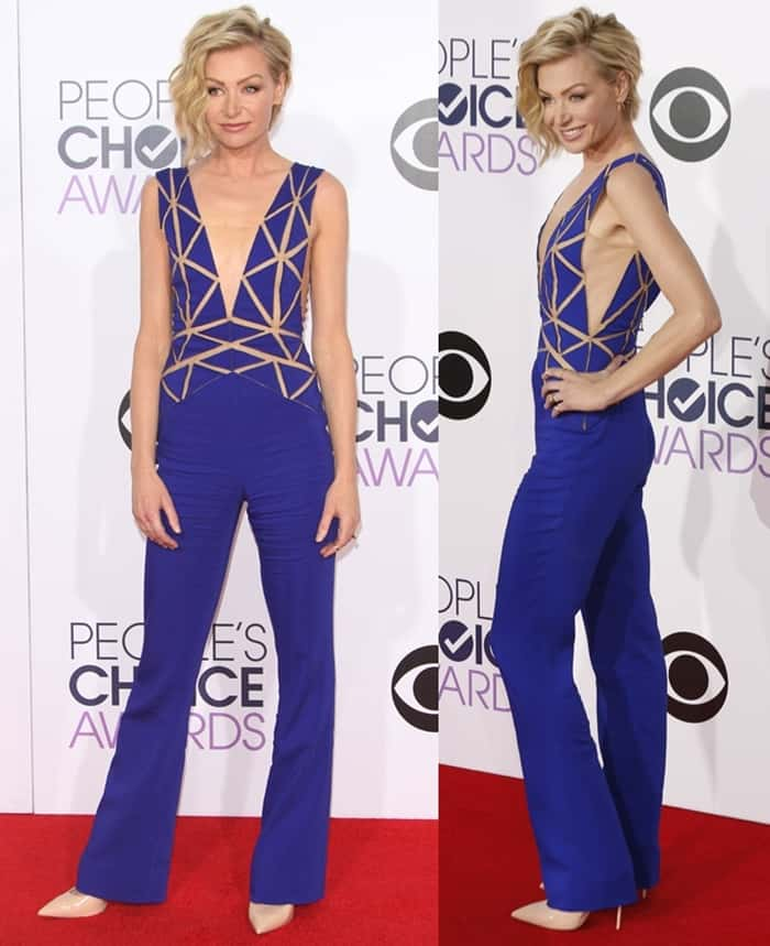 Portia de Rossi at the 41st Annual People's Choice Awards