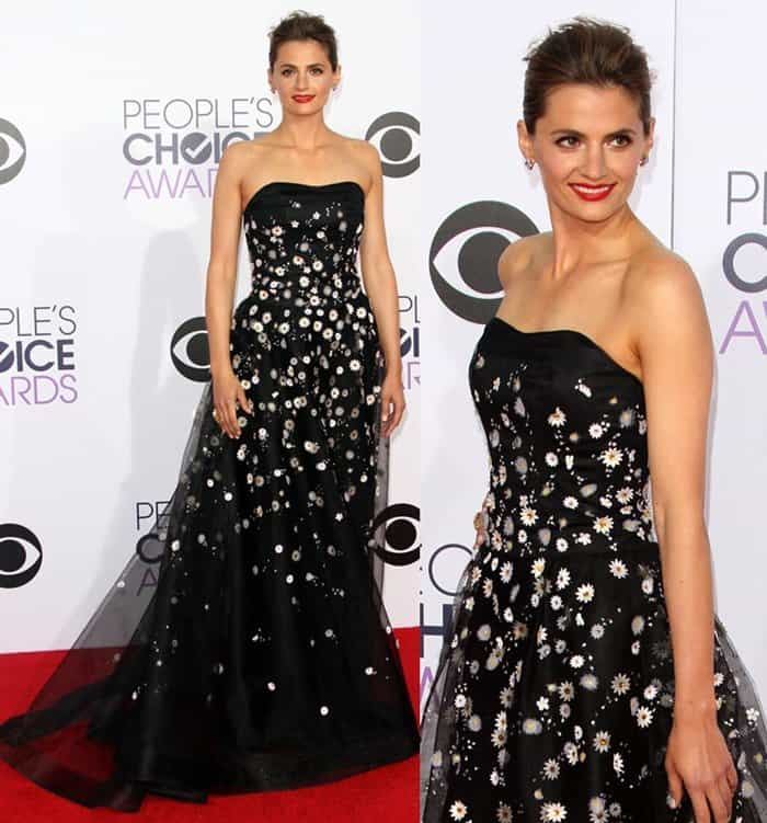 Stana Katic at the 41st Annual People's Choice Awards