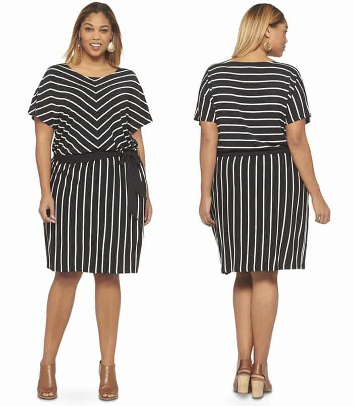 Ava & Viv Women's Plus Size Short Sleeve Dress