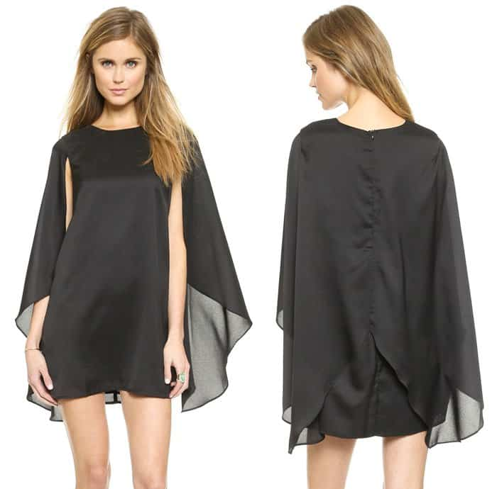 re named Woven Cape Dress