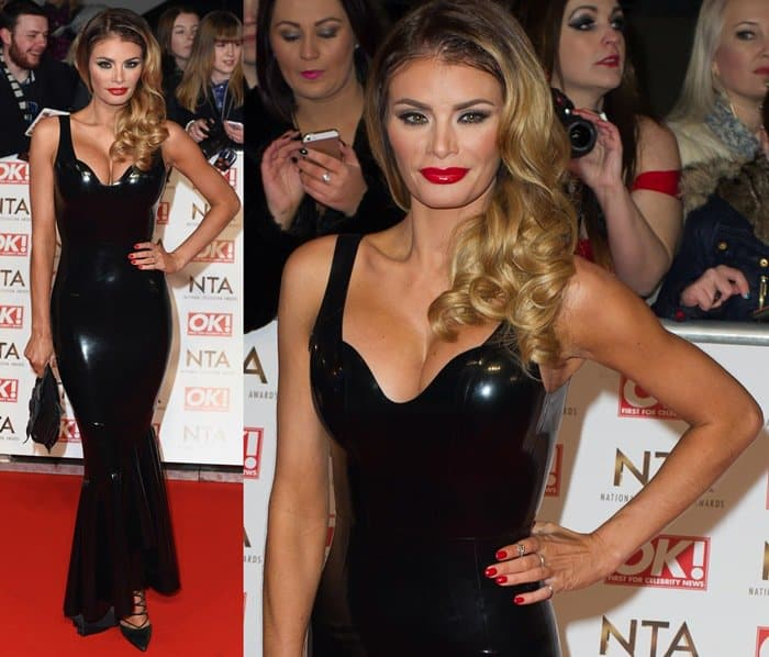 Chloe Sims at the 2015 National Television Awards held at the O2 Arena in London on January 22, 2015