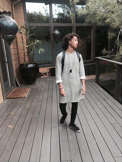 Jaden Smith dress