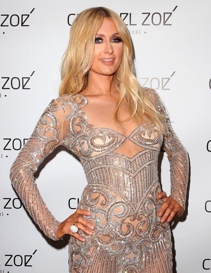 Paris Hilton Charbel Zoe Haute Couture4