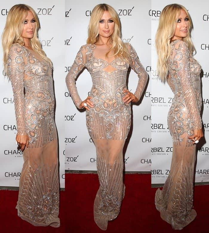 Paris Hilton Charbel Zoe Haute Couture7