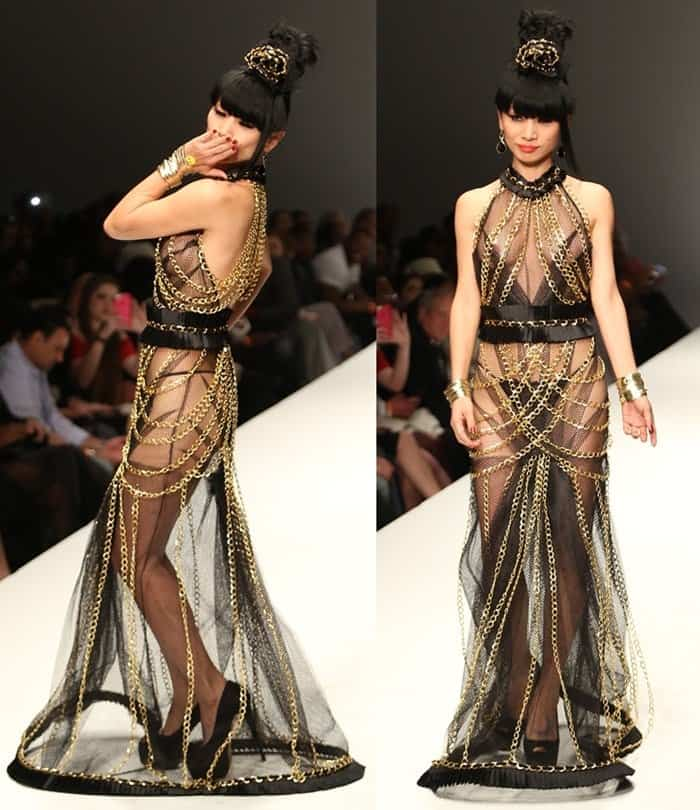 Sheer Dresses Bai Ling4
