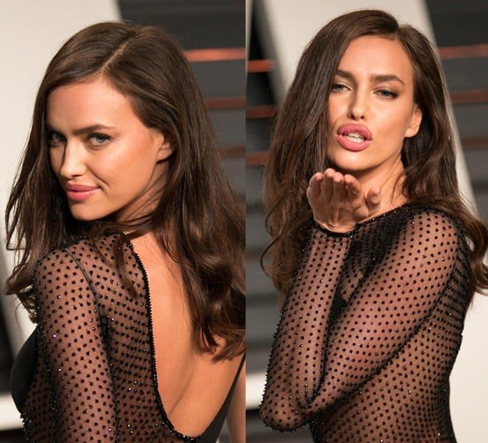 Sheer Dresses Irina Shayk6