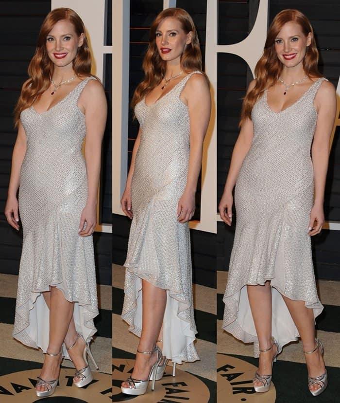 Bargain Dresses Jessica Chastain5