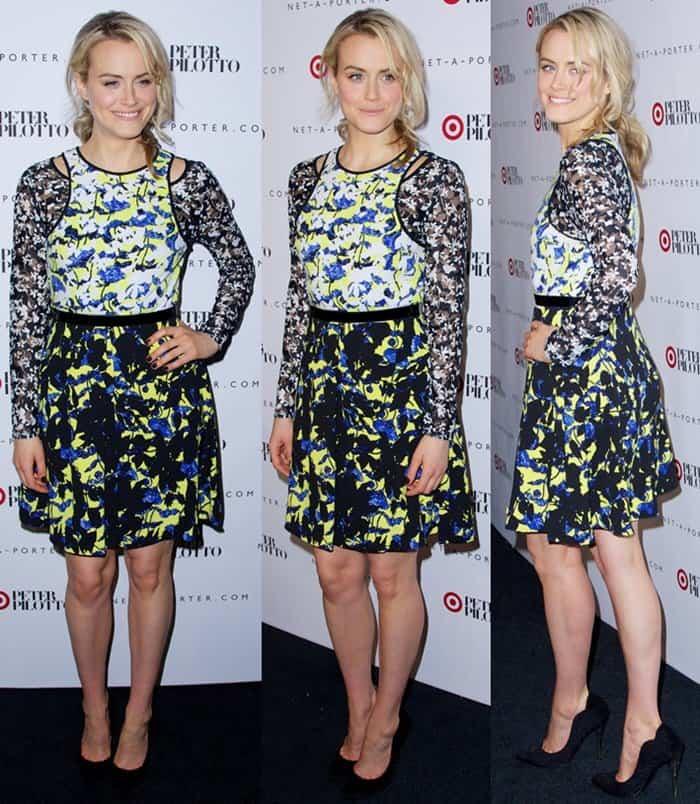 Bargain Dresses Taylor Schilling4