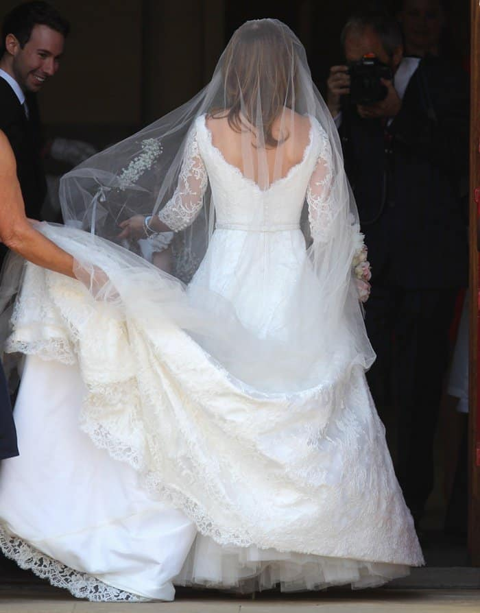 Geri Halliwell Wedding Dress3