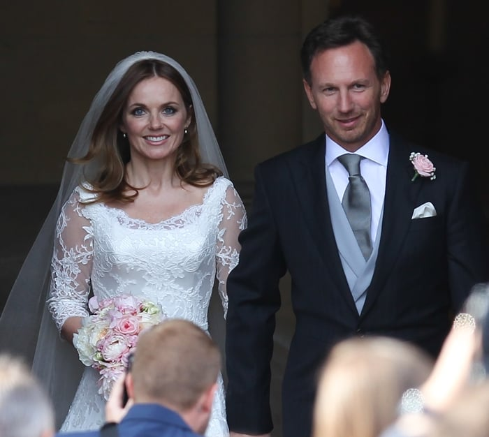 Geri Halliwell Wedding Dress5
