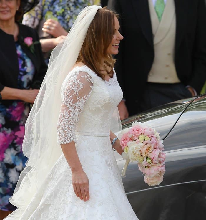 Geri Halliwell Wedding Dress6