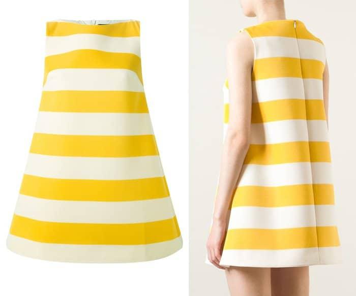 Jacquemus Striped A line Dress