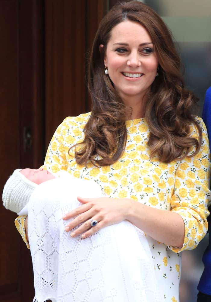 Kate Middleton Baby Girl 1
