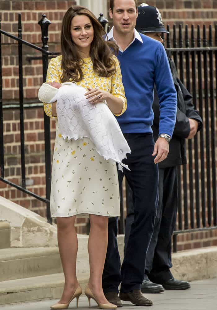 Kate Middleton Baby Girl 11