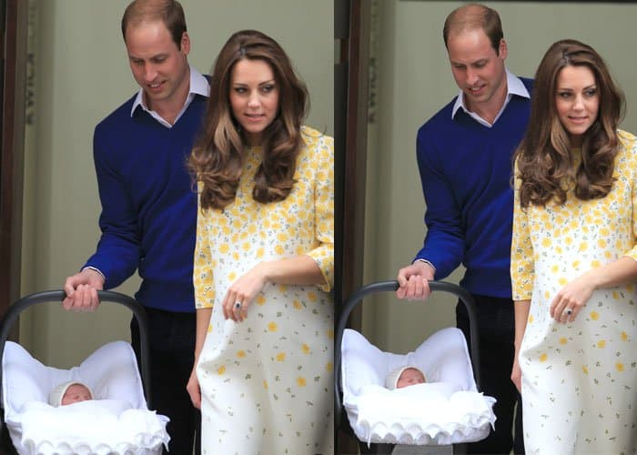 Kate Middleton Baby Girl 2