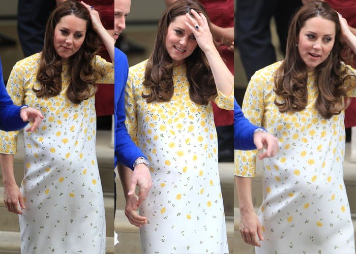 Kate Middleton Baby Girl 3