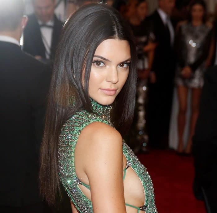 MET Gala 2015 'China: Through The Looking Glass' Costume Institute Benefit Gala at the Metropolitan Museum of Art - Arrivals Featuring: Kendall Jenner Where: New York City, New York, United States When: 04 May 2015 Credit: WENN.com **Not available for publication in Germany**
