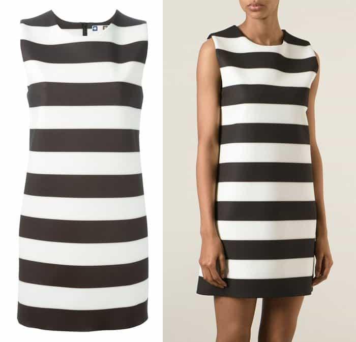 MSGM Block Stripe Dress