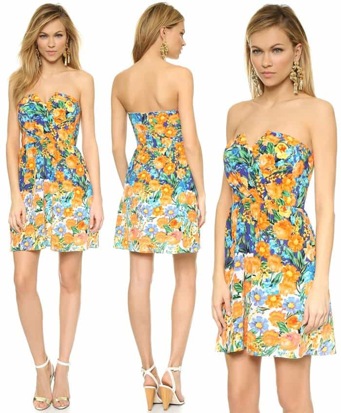 Yumi Kim Gracie Silk Dress