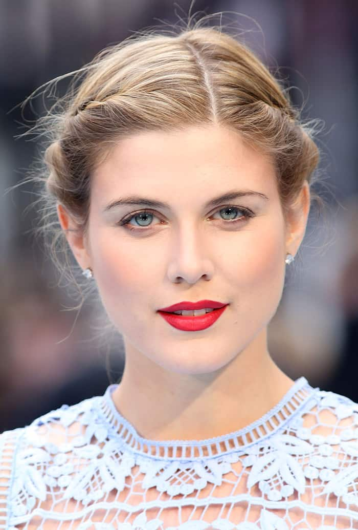 """Ashley James at the European Premiere of """"Entourage"""" held at Vue West End in London on June 9, 2015"""