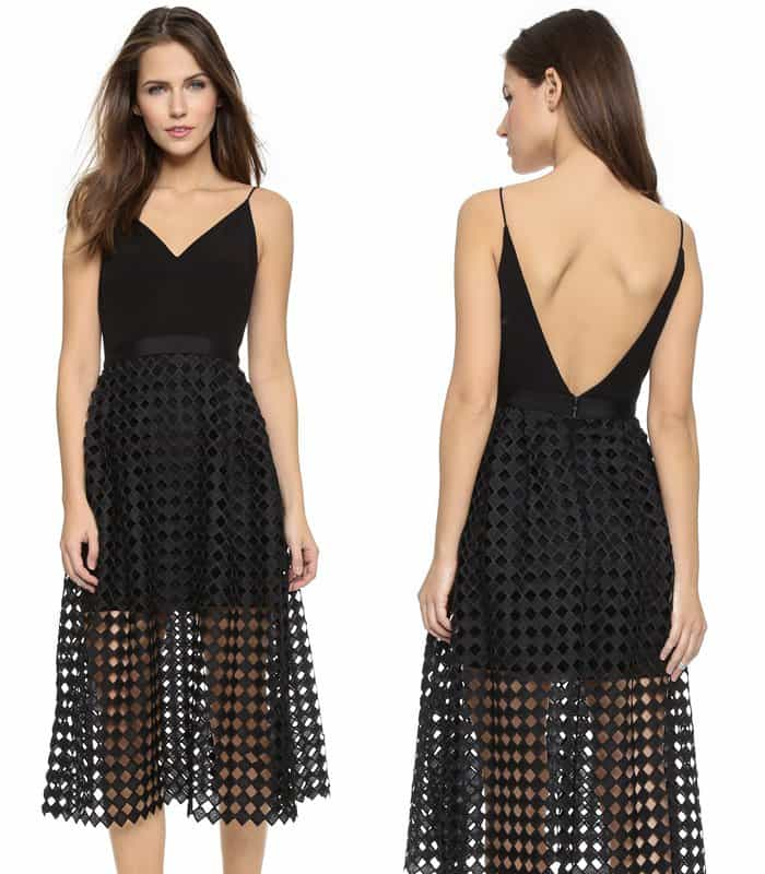 Cynthia Rowley V Back Dress