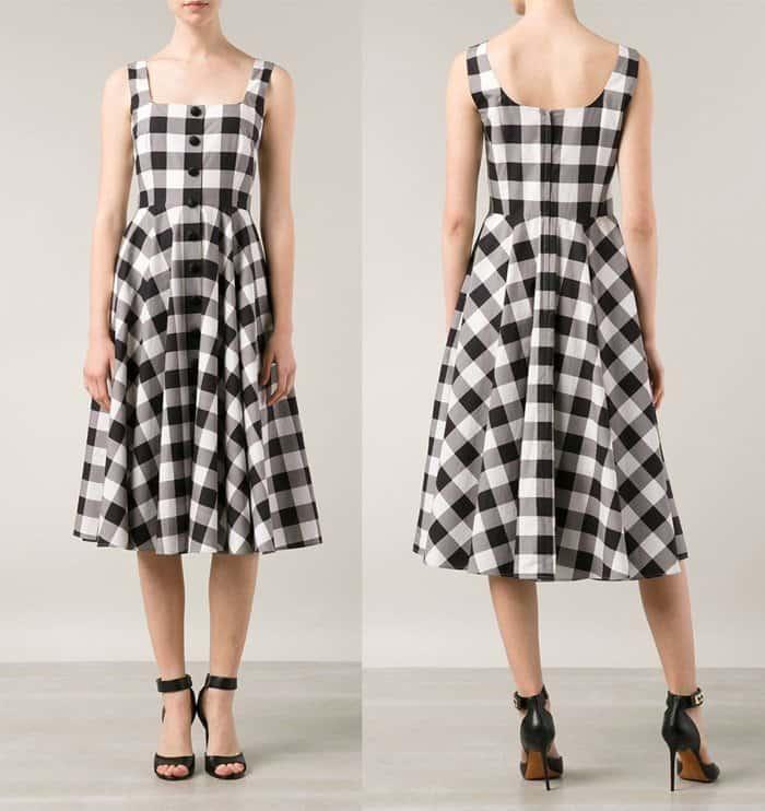 Dolce & Gabbana Checed Dress
