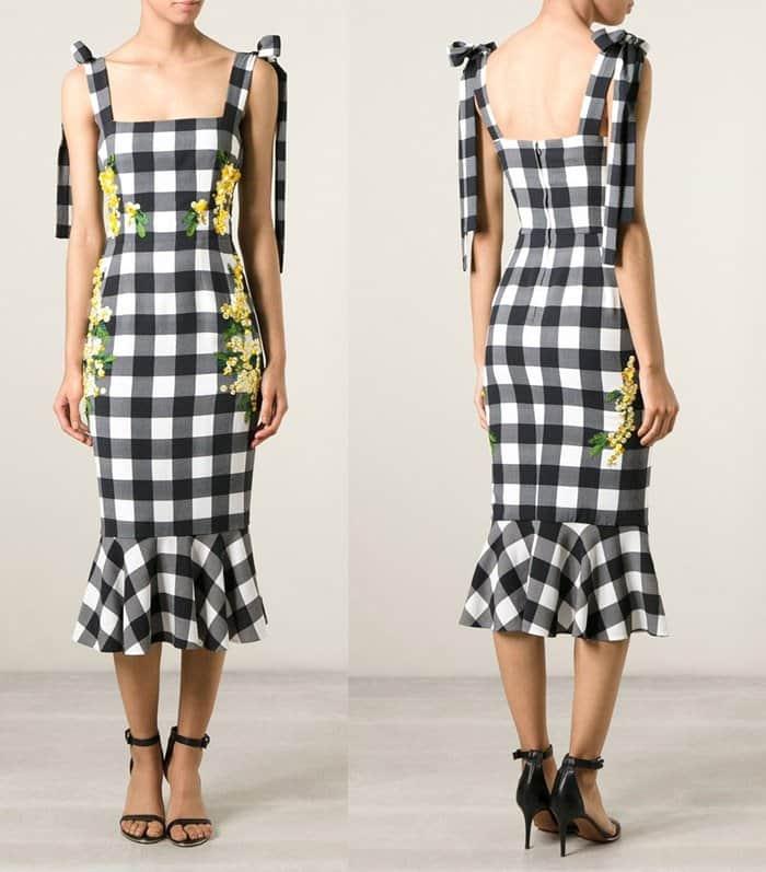 Dolce & Gabbana Check Acacia Dress