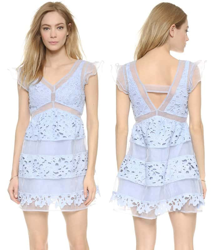 JOA Lace Dress