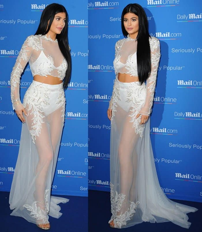 Kylie Jenner at the MailOnline yacht party during the Cannes Lions Festival in Cannes, France, on June 24, 2015