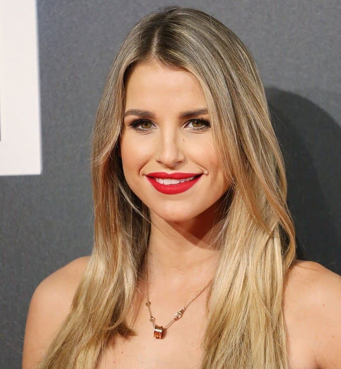 """Vogue Williams at the world premiere of """"Insurgent"""""""