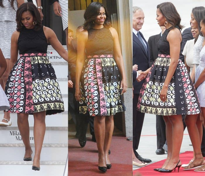 031addecf907 5 Times Michelle Obama Proved She Has Great Taste in Summer Dresses