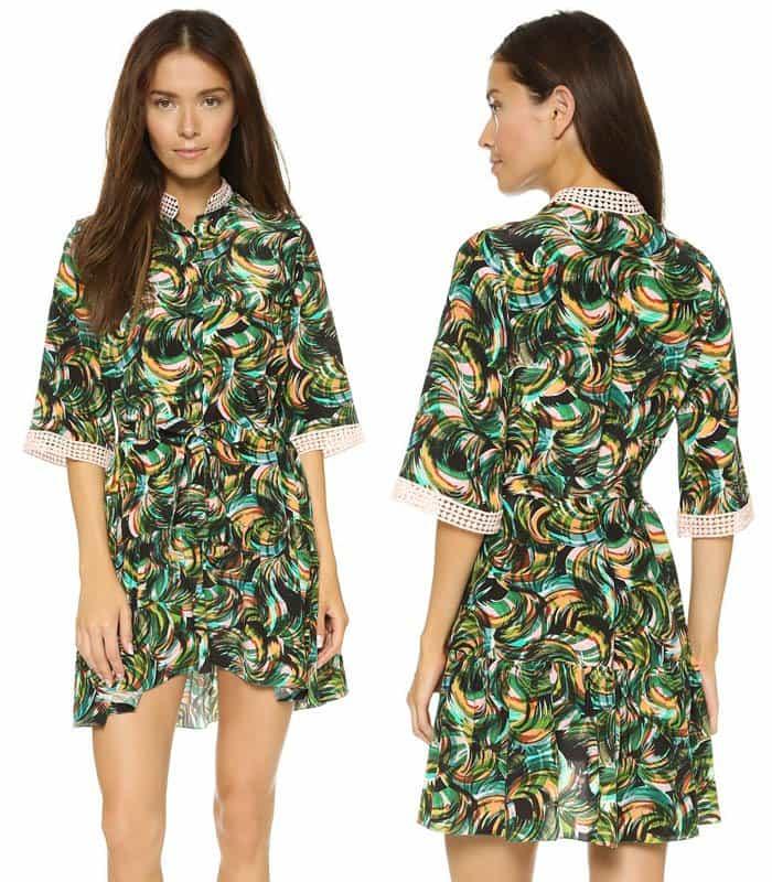 Saloni Alix Dress