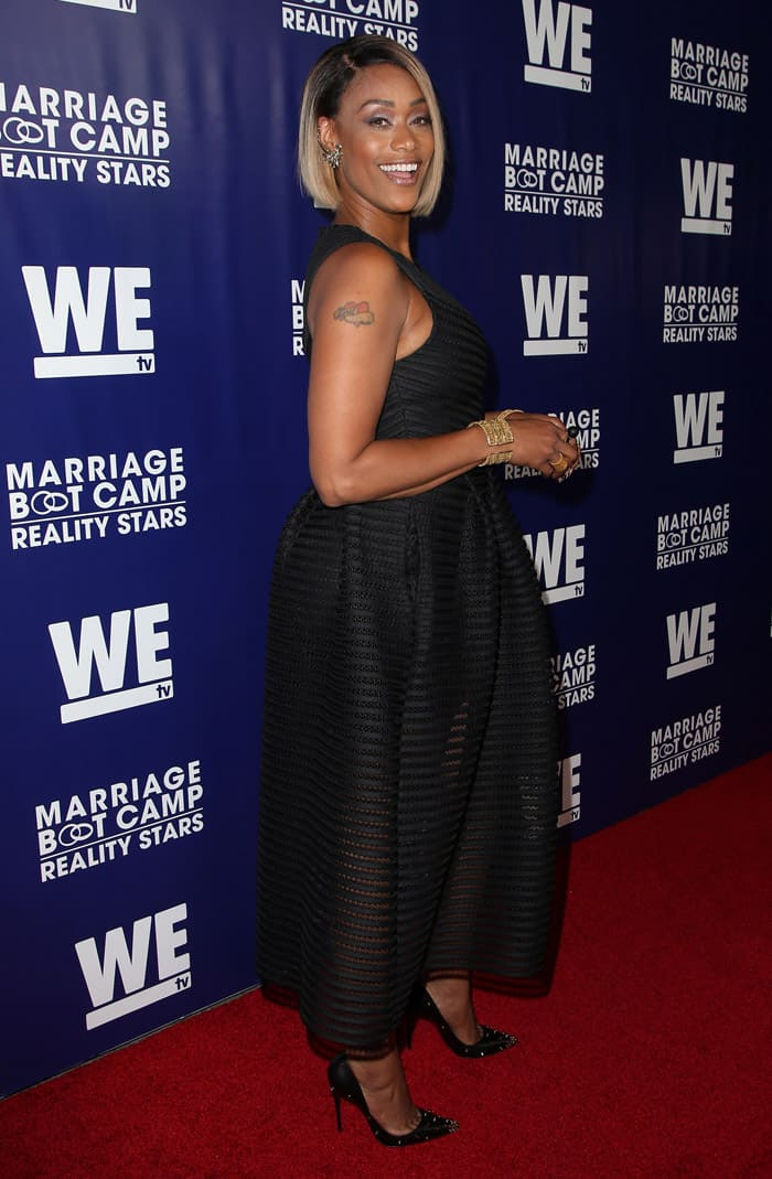 Tami Roman at the WE TV's 'Marriage Bootcamp Reality Stars' premiere party in West Hollywood, California on May 29, 2015