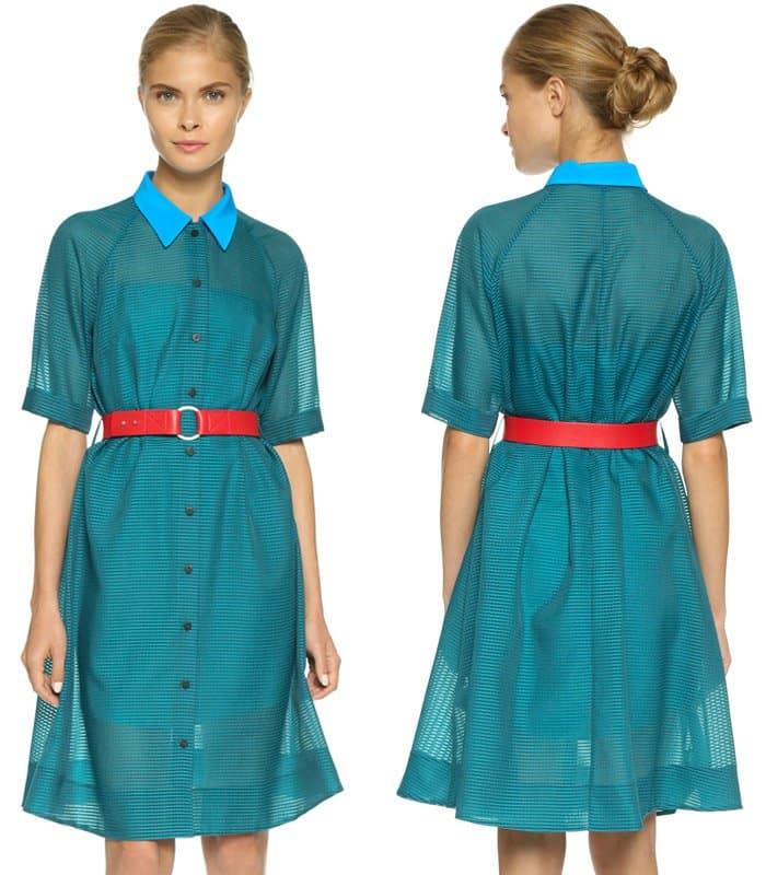 Victoria Victoria Beckham Aline Shirt Dress