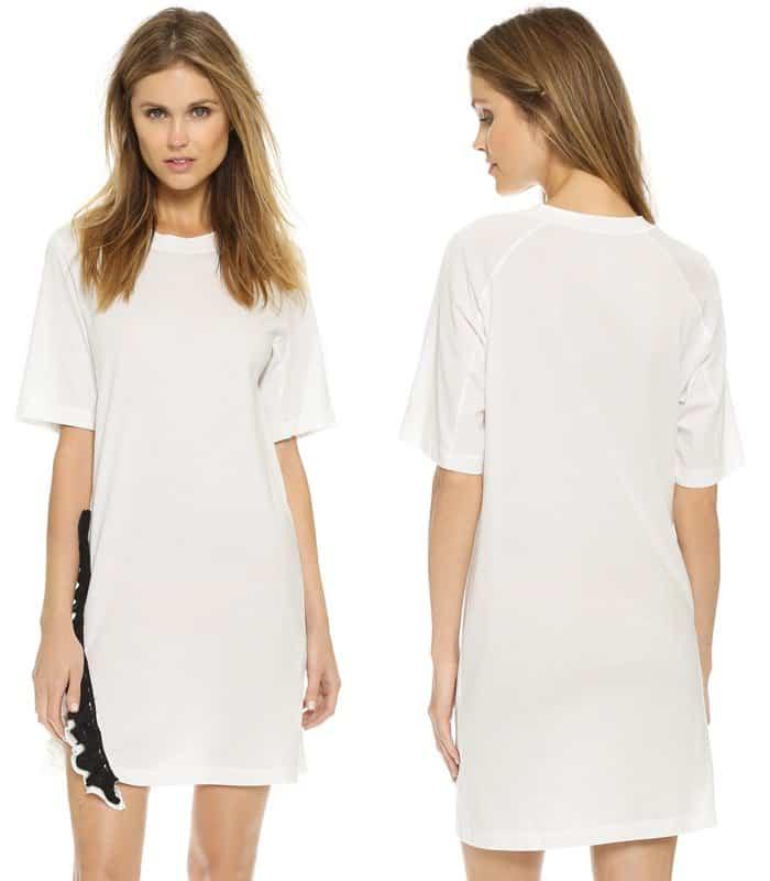 3 1 Phillip Lim Ruffle T shirt Dress