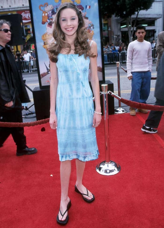 Amanda Bynes at the premiere of Rugrats at Mann Chinese Theater in Los Angeles on November 5, 2000