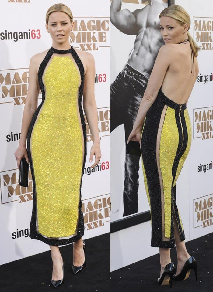 """Elizabeth Banks at the premiere of """"Magic Mike XXL"""" at the TCL Chinese Theater IMAX in Hollywood."""