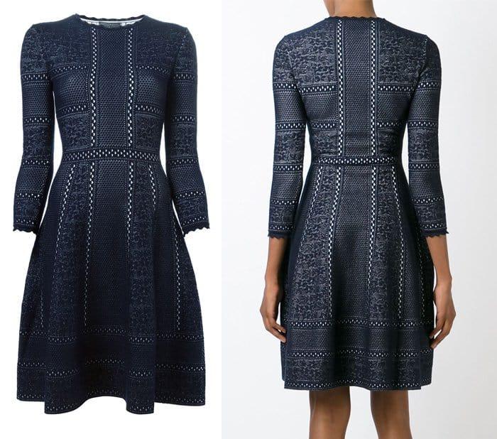 Alexander McQueen Victorian Lace Knit Dress