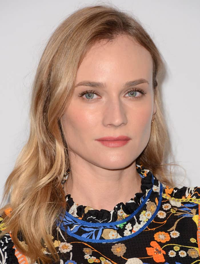 Diane Kruger at the Fashion 4 Development's 5th Annual Official First Ladies Luncheon